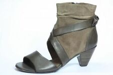 Caprice Grammy Brown Leather Ankle Women's Shoes UK 3.5 EURO 36