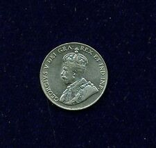 CANADA  GEORGE V  1923  5 CENTS  COIN, ALMOST UNCIRCULATED