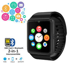 2-in-1 Stylish GSM Wireless Watch w/ Bluetooth 3.0 Camera Unlocked AT&T T-Mobile