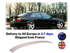 BMW E36 M3 Style Roof Spoiler Wing Aileron Rear Window Serie 3 4D from 1992-1998
