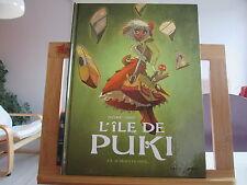 L'ILE DE PUKI T1 EO2011 TTBE AU DEBUT LE COEUR DANJOU DJET