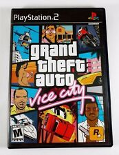Grand Theft Auto Vice City - Playstation 2 - Video Game - 2002