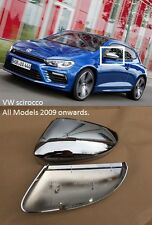 VW Scirocco Chrome Wing Mirror Covers Direct Replacement OEM Fitment