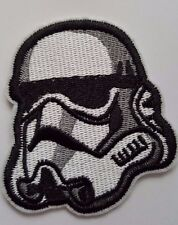 Star Wars Storm trooper Helmet Iron On Badge Transfer Iron on Patch