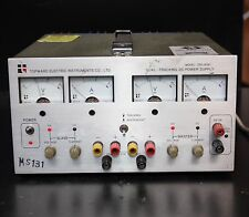TOPWARD TPS-4000 DC Regulated Dual Tracking Power Supply input 240V Out 0-30V 3A
