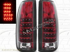 1988-1999 GMC CHEVY CK FULL SIZE SIERRA C10 TRUCK TAIL LIGHTS LED RED