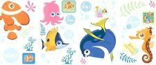 DISNEY FINDING DORY wall stickers 26 BIG decals NEMO PEARL scrapbook STARFISH