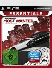 PlayStation 3 Need For Speed Most Wanted 2012 essential utilizada