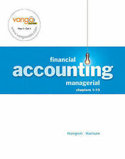 Financial and Managerial Accounting: Chapters 1-13: Financial, Chapter 1-15, Hor