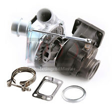 """T3/T4 TURBO CHARGER 350+ HP 2.5"""" V-BAND WITH INTERNAL WASTEGATE FOR DSM"""