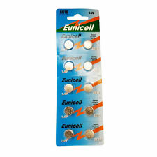 50 x EUNICELL AG4 SR626SW Alkaline Laser Pointer Batteries Coin Cell AG4