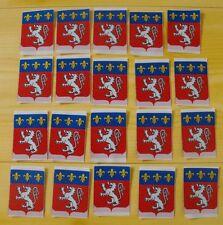 Lot 20 insigne écusson tissu patch scout scoutisme Province Rhône-Alpes