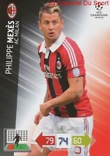 U78 PHILIPPE MEXES AC MILAN FRANCE CARD CHAMPIONS LEAGUE ADRENALYN 2013 PANINI