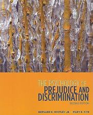 Psychology Of Prejudice And Discrimination by Bernard E Whitley