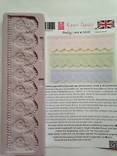 Karen Davies Emily Lace Border Sugarcraft Mould NEXT DAY DESPATCH