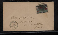 Canada  86  on  cover  1899           MS0915