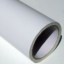 "10M ROLL MATT WHITE 24"" SELF ADHESIVE VINYL CUTTER ROBO"