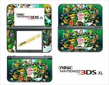 SKIN STICKER - NINTENDO NEW 3DS XL -  REF 171 ZELDA