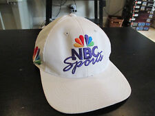 VINTAGE NBC Sports Sports Specialties Snapback Hat Basketball 90s Purple Peacock
