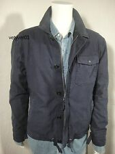 NWT Polo RALPH LAUREN Military/Combat Cotton Twill Jacket Navy Washed size XXL