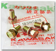KAWASAKI PARTS KLF220 KLF250 KLF300 BAYOU 220 250 300/4X4 FOOT PEG BOLTS QTY.4