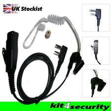 Icom two wire door  bouncer security ear piece earpiece Large PTT