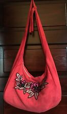 Urban Outfitters Urban Renewal Cross Body Bag Shoulder Bag Red Sequin Handmade