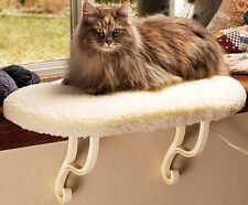 Enhanced KH3095 Heated Thermo Kitty Sill Cat Pet Pad w/ Removable Heating Unit