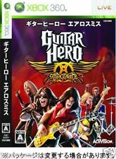Used Xbox 360  Guitar Hero Aerosmith MICROSOFT JAPAN JP JAPANESE JAPONAIS IMPORT