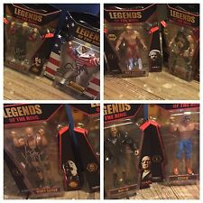 AUTOGRAPHED LEGENDS OF THE RING FIGURES