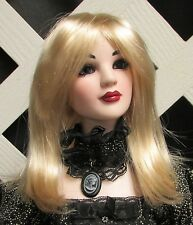 "Doll Wig, Monique Gold ""Misty"" Size 5/6 in Milk Color (Looks Champagne)"