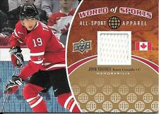 2010 Upper Deck World Of Sports All-Sport Apparel #33 John Tavares Jersey Card