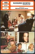 BLESSURES SECRETES - De Niro,DiCaprio,Barkin(Fiche Cinéma)1993 - This Boy's Life