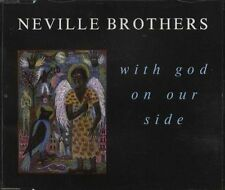 "THE NEVILLE BROTHERS : WITH GOD ON OUR SIDE 3 TRACK 5"" CD SINGLE AMCD 545 A&M"