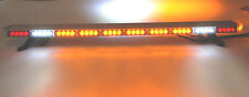 "50"" LED AMBER  LIGHT BAR  TOW TRUCK  PLOW POLICE FIRE EMS PILOT CAR TURN SIGNAL"