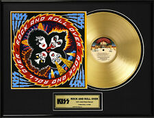 KISS ''Rock and Roll Over'' Gold LP Lot 1892653