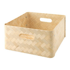 Ikea BULLIG boîte de rangement panier pour jouets magazines vêtements se adapte expedit rangement
