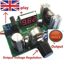 LM317 Adjustable Voltage Regulator Step-down Power Supply Module with LED Meter