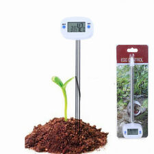 Digital Soil Temperature Humidity Moisture Tester Thermometer