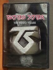 Twisted Sister - The Video Years (DVD, 2007)   LIKE NEW