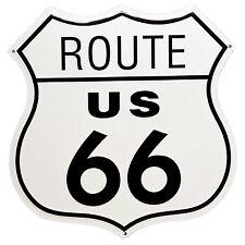 11 in US Route 66 Shield Tin Sign Man Cave Bar Garage Wall Decor RT Highway Road