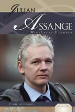 Julian Assange: WikiLeaks Founder (Essential Lives)-ExLibrary