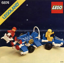 NEW Lego Classic SPACE 6874 MOON ROVER Sealed LEGOLAND Vintage Ships World Wide