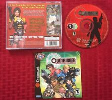 Outtrigger (Sega Dreamcast, 2001) 100% Authentic, Complete, Plays Perfectly!
