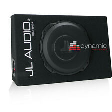 "JL AUDIO CS110TG-TW3 PowerWedge Truck Style Enclosure with 10"" TW3 Subwoofer"