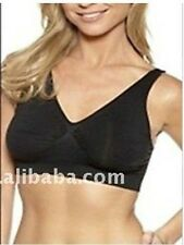 Seamless Sport Bra vest body shaper One size Black