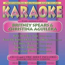 The Songs of Britney Spears & Christina Aguilera by Karaoke (CD, Sep-2000, BCI M