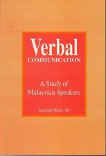 Verbal Communication: A Study of Malaysian Speakers - Jamaliah Mohd Ali