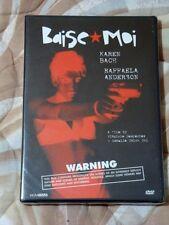 BAISE MOI DVD-ORIGINAL 2000 Release-Karen Bach,Raffaela Anderson--FACTORY SEALED