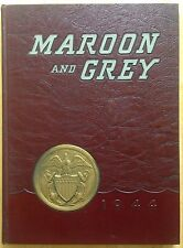 1944 DOBYNS-BENNETT HIGH SCHOOL YEARBOOK, THE MAROON AND GREY, KINGSPORT, TN